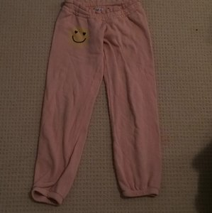 Wildfox Relaxed Pants Peach