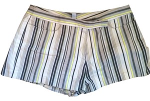 Laundry by Shelli Segal Striped Shorts White