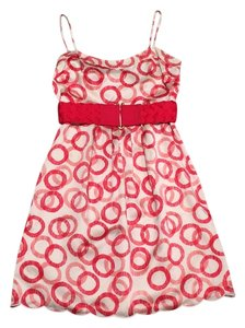 Juicy Couture Empire Waist Belted Dress