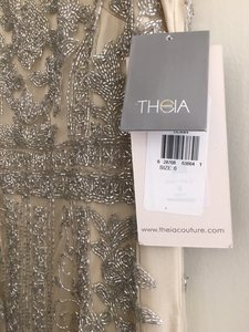 Theia Theia Column Beaded Dress Wedding Dress