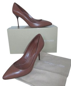 Sergio Rossi Leather Brown Formal