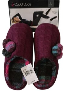 Cuddl Duds berry Flats