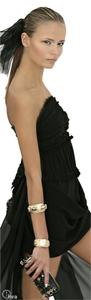 Chanel Silk Strapless Corset Dress