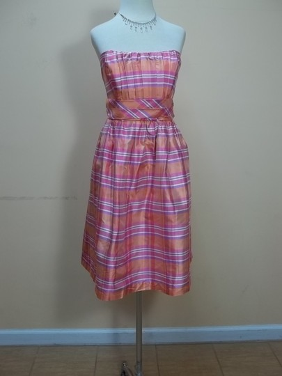 Preload https://item2.tradesy.com/images/alfred-angelo-creamsicle-plaid-silk-7110-formal-bridesmaidmob-dress-size-8-m-1115536-0-0.jpg?width=440&height=440