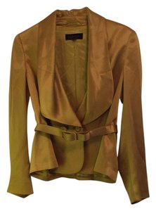 Escada Silk Jacket Gold Blazer
