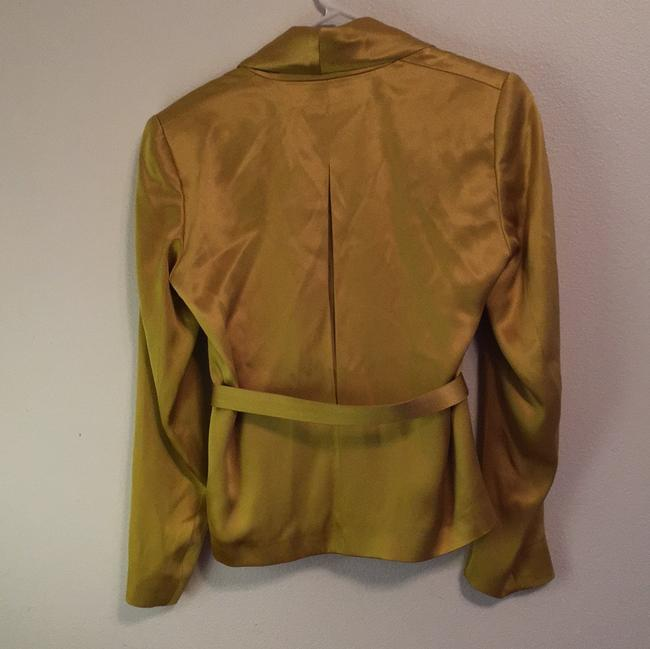 Escada Jacket Yellow Jacket Jacket Gold Blazer