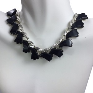 Albert Weiss Black Dressy Onxy Style Necklace