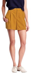 Old Navy High-rise Twill New Dress Shorts Gold