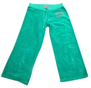 Juicy Couture Athletic Pants Green