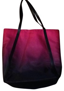 Calvin Klein Tote in Rasberry & Black