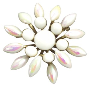 Other Pearlized Milk Glass Brooch