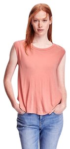 Old Navy Relaxed Cap-sleeve Rayon Top Peach