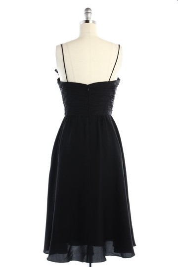 BHLDN Black Silk Couplet Vintage Bridesmaid/Mob Dress Size 10 (M)