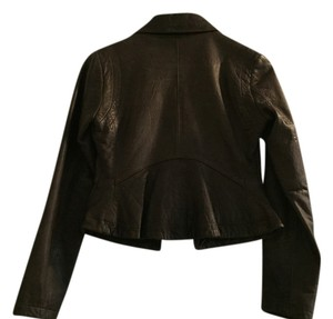 Banana Republic Dark Brown Leather Jacket