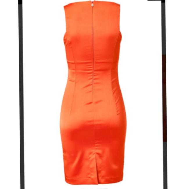 Just Cavalli short dress Orange on Tradesy