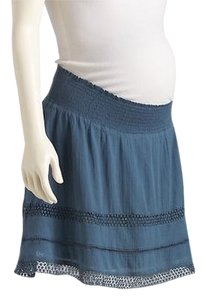 Old Navy NWT Old Navy Maternity Smocked-Waist Eyelet Skirt 100% Cotton size XL NEW