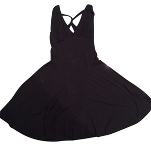 A X Armani Exchange Crisscross Strap Formal Party Holiday Dress