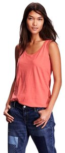 Old Navy Relaxed Apple Guava Cotton Top Orange