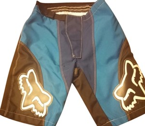 Fox Racing Motorcycling Very&Turquoise Blue Shorts