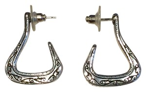 Brighton Brighton Silvertone Earrings