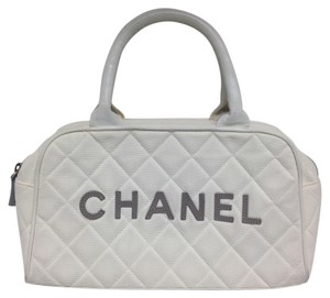 Chanel Gold Gold Hardware Cc Satchel