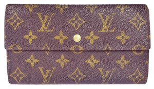Louis Vuitton Authentic Louis Vuitton Trifold Sarah Wallet