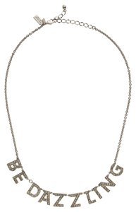 Kate Spade kate spade DAZZLE AND DELIGHT NECKLACE #wbru7034 clear/silver NWT From $98