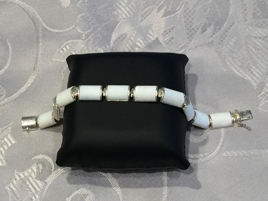 Other Summery Sterling Silver with White Bracelet (7