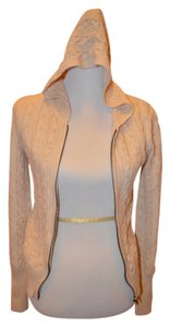 Rubbish Hood Cardigan Spring Beige Jacket