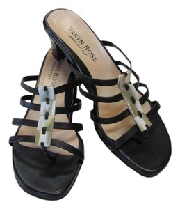 Taryn Rose Size 39-1/2 (8.50) M Dark Brown Sandals