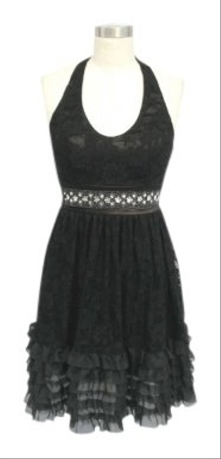 Preload https://item1.tradesy.com/images/black-lace-halter-sizexl-knee-length-night-out-dress-size-16-xl-plus-0x-111595-0-0.jpg?width=400&height=650