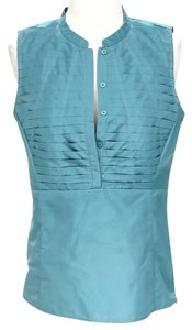 Lafayette 148 New York Top Blue