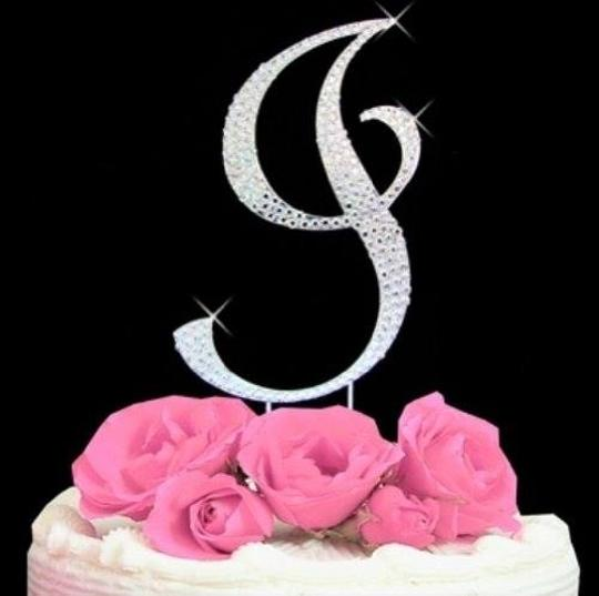 Preload https://item3.tradesy.com/images/silver-rhinestone-i-cake-topper-1115987-0-0.jpg?width=440&height=440