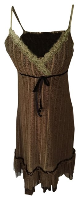 Item - Brown Short Night Out Dress Size 8 (M)