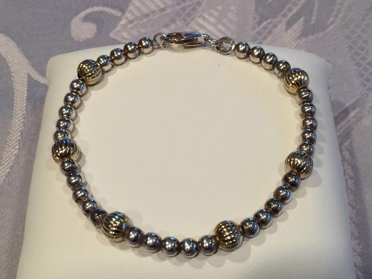 Other Delicate Two-Tone Bracelet (7-1/4