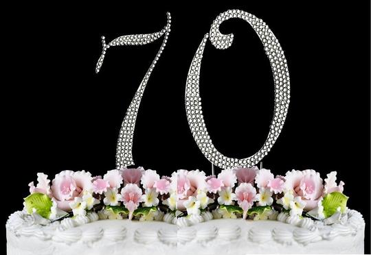 Preload https://item5.tradesy.com/images/silver-rhinestone-70-cake-topper-1116114-0-0.jpg?width=440&height=440