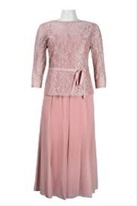 Alex Evenings Apricot 370355 Dress
