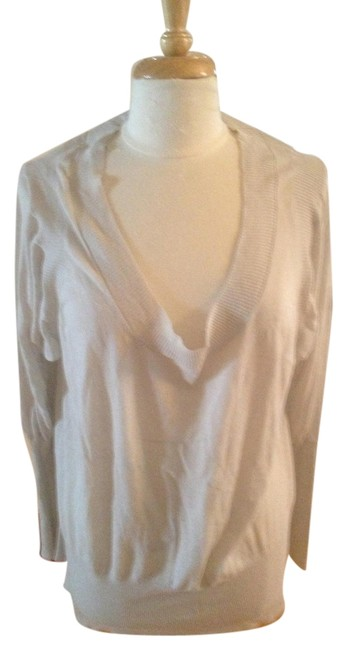 Independent Clothing Co. Oversized Sheer V-neck Sweater