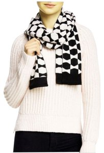 Kate Spade Kate Spade Signature Bow Muffler in Pink and Black