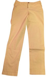 Gap Straight Pants Light lime green