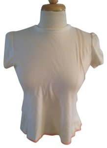Diesel Backless T Shirt Cream
