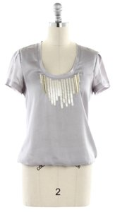 Banana Republic Top Silver