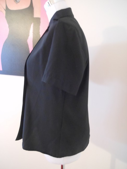 Talbots Button Down Shirt Black