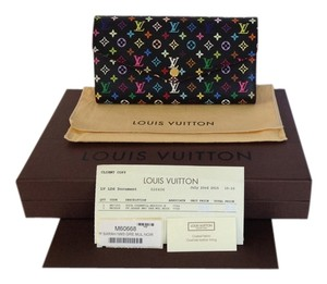 Louis Vuitton Louis Vuitton Multicolor Sarah Wallet Noir