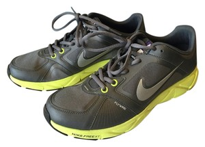 Nike Free Reflective Plus Ipod Apple Iphone Neon Gray Gray/Silver/Yellow Athletic