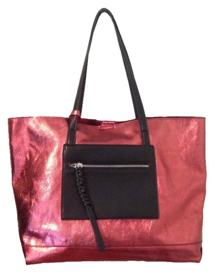 Tosca Tote in Red/Black