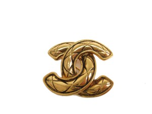 Chanel Auth CHANEL COCO Broach Metal Gold (BF095749)