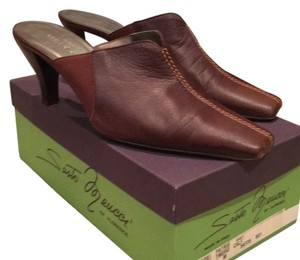 Sesto Meucci Brown Mules