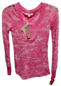 Energie Macy's Pink Long Sleeve Top