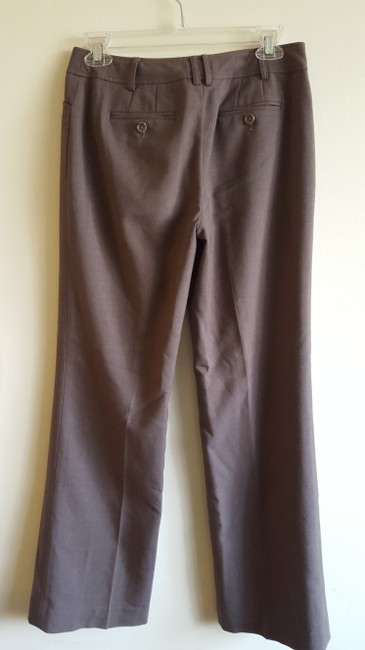 Ann Taylor Lined Trouser Pants Cocoa Brown